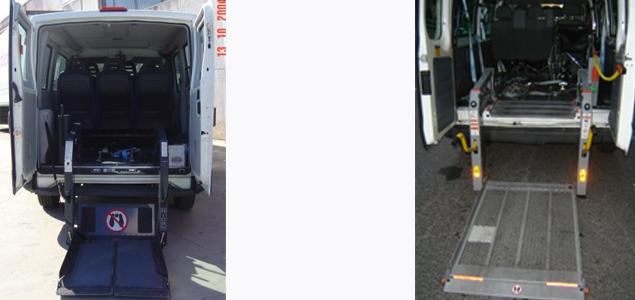 Plataformas elevadoras para mercanc as y sillas de ruedas for Plataforma para silla de ruedas