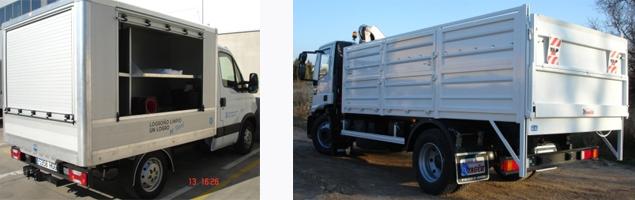 Vehiculos para reciclaje