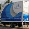 Rotulación y personalización de cajas de camiones